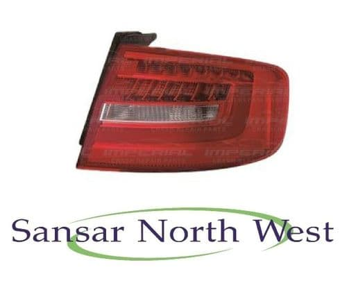 Audi A4 - Drivers Side Rear Lamp Tail Light LED Type - O/S - RIGHT 2012 - 2015